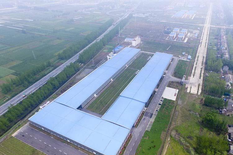 厂房俯瞰图