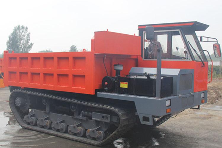 10吨工程履带自卸车应用范围广