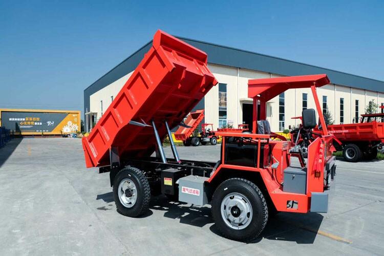矿安品质5吨隧道工程运输车